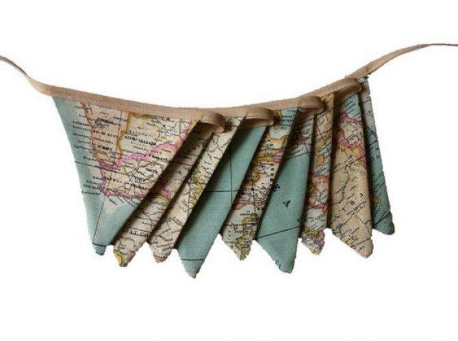 Estos #banderines son ideales para las habitaciones de los peques de la casa.