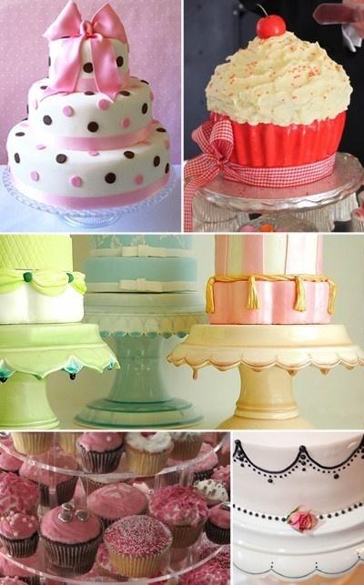 Polka dot cake. POLKA DOT CAKE.
