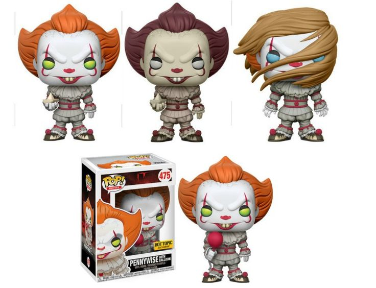 Funko It Pops Coming Soon With Pennywise Figure