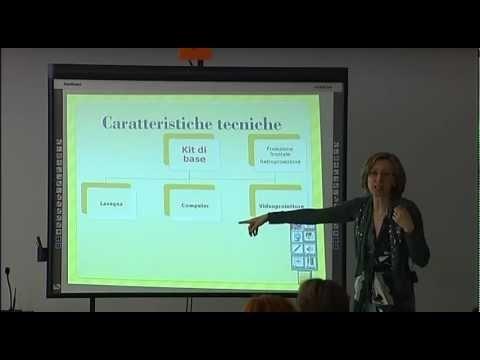 Insegnare con la lavagna interattiva! La LIM è una superficie interattiva, sulla quale viene riprodotta l'uscita video di un computer, che opera come parte (periferica di input) agendo come un grande touch screen.