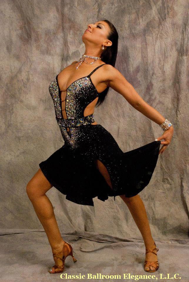 Latin Ballroom Dress For Rent At Classic Ballroom Elegance | By Dore' Designs | Size: 2-6 | Professional & Collegiate Discounts | www.cberentals.com | 480-584-6513