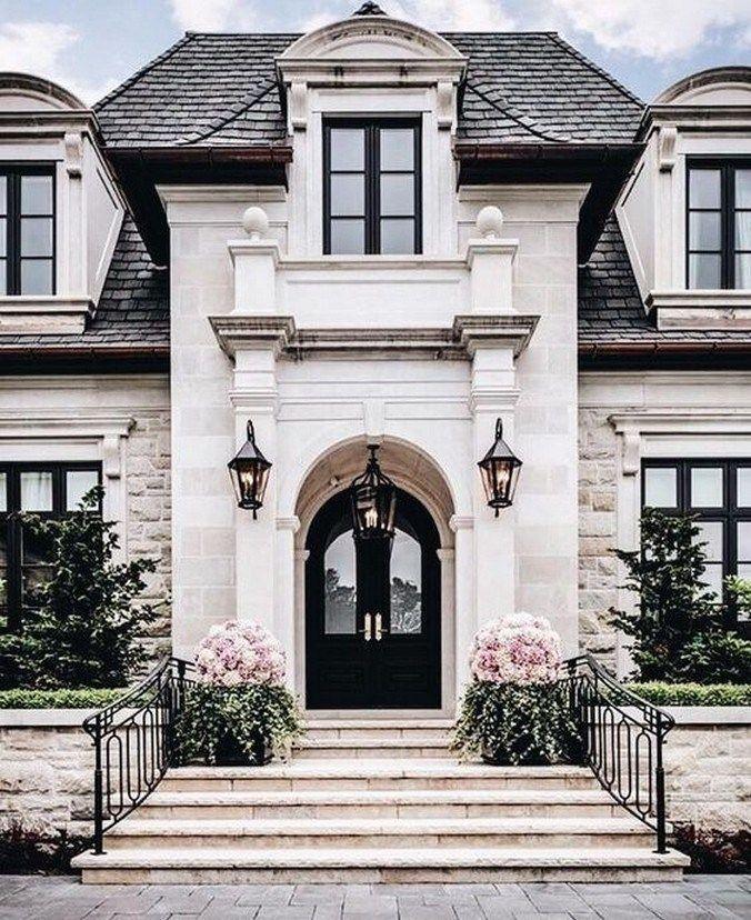✔46 best farmhouse front porch design ideas for your farmhouse 37