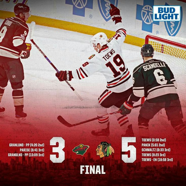 HAWKS WIN! The Blackhawks close this exciting matchup and pick up two points in the standings thanks to an incredible performance by the Toews line!