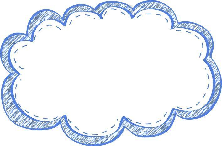 Cloud Clipart 5 Bingkai Bingkai Foto Seni