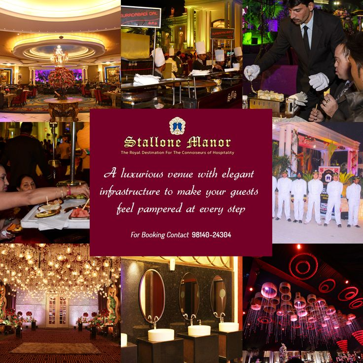 A luxurious venue with #elegant infrastructure to make your #guests feel pampered at every step.
