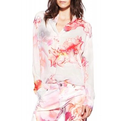 Samsøe & Samsøe - Waddi Shirt Flower Print - Kotyr.com