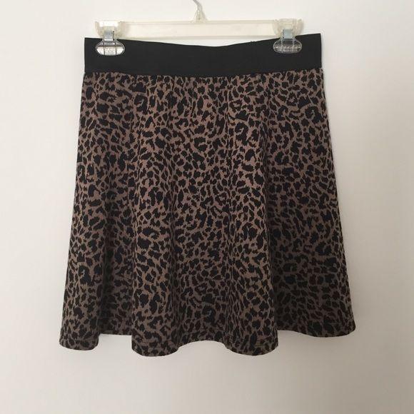 SALE Cheetah skirt NWOT Cheetah skirt NEVER BEEN WORN NWOT. Not UO Urban Outfitters Skirts
