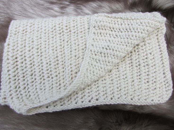 Hand Knit Alpaca Baby Blanket - pinned by pin4etsy.com