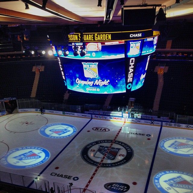 Go to NY Rangers Game at Madison Square Garden