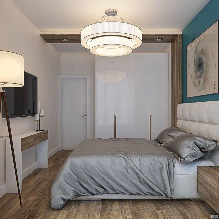 Спокойный стиль спальной комнаты