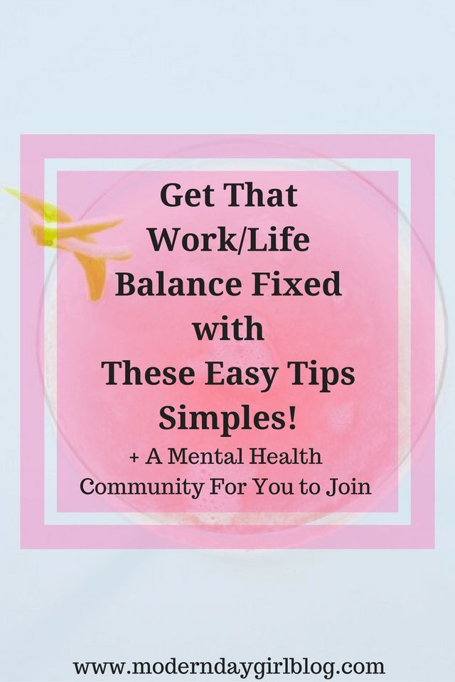 Struggling to get your work/life balance sorted? Always tired and have no energy? Learn these easy tips now to reduce anxiety and stress.