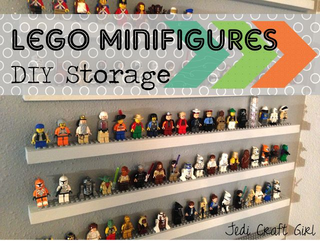 lego storage shelf - I'd like to say that I'm posting this for reference in regards to my future children but rather, it's for my man child.