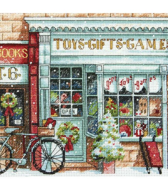 Dimensions Gold Counted Cross Stitch Kit Petite Toy Shoppe