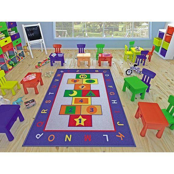 Antdecor Game Design Kids Rugs Game Design Anti Slip Anti