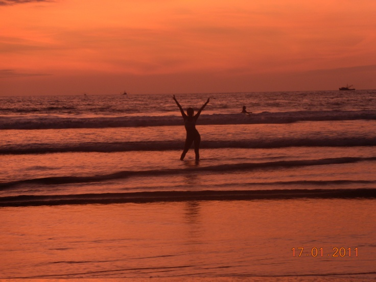 Sunset Montañita - Ecuador 11'