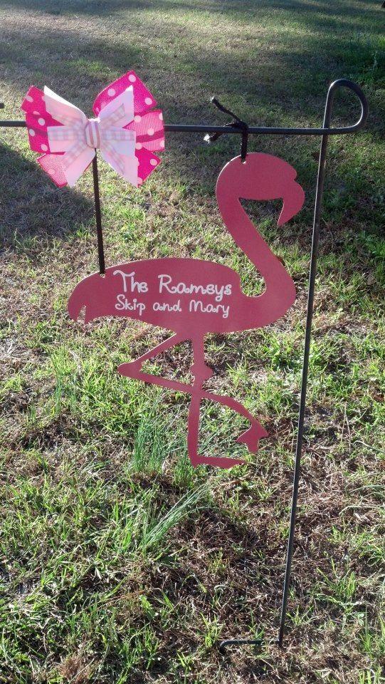 Pink Flamingo By BackYardMetalArt On Etsy, $27.00. Pink FlamingosMetal  ArtBackyardPatioFlamingosMetal ...