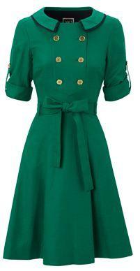 Green Hobbs dress