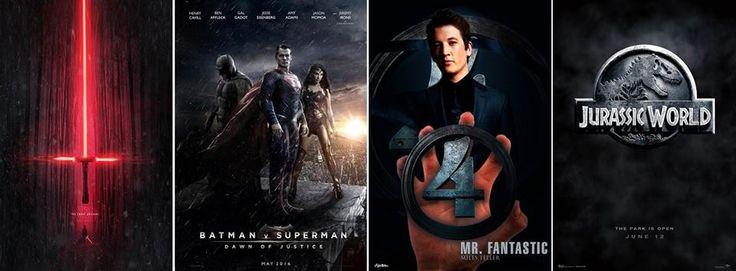 Ecco i 4 trailer più attesi e cliccati degli ultimi giorni. Star Wars 7, Jurassic World, Batman vs Superman, I Fantastici 4, raccolti per voi da Moowiz in un unico link. Star wars: https://www.youtube.com/watch?v=SxeTeSyMvXI Batman vs Superman: https://www.youtube.com/watch?v=khZgnhQ8hyA Fantastic 4: https://www.youtube.com/watch?v=_rRoD28-WgU Jurassic world: https://www.youtube.com/watch?v=Mgv1X7DOqK0  Non sai che film guardare? www.moowiz.it