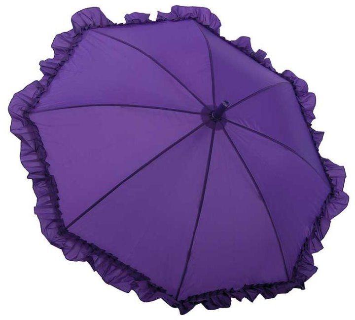 Purple ruffle parasol!
