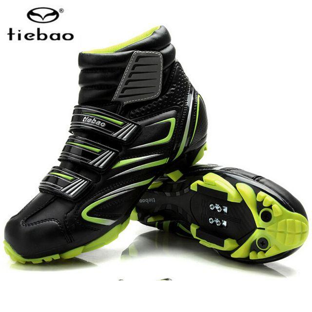Big Discount $49.35, Buy Tiebao Cycling Shoes For Women & Men Winter Cycle Cycling MTB bike Self-locking Shoes Bicycle Boot Sapatilha Ciclismo Zapatillas