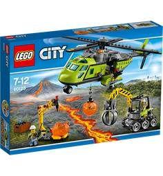 LEGO City 60123 Vulkan - forsyningshelikopter