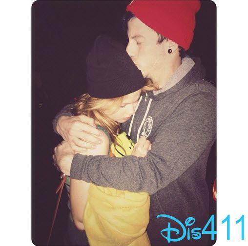 Photos: Debby Ryan Is Sad To Say Goodbye To Josh Dun January 6, 2014