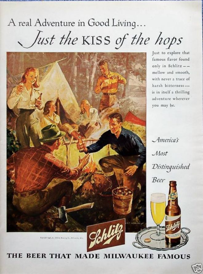 Weekend Camping Event: Just the KISS of the hops