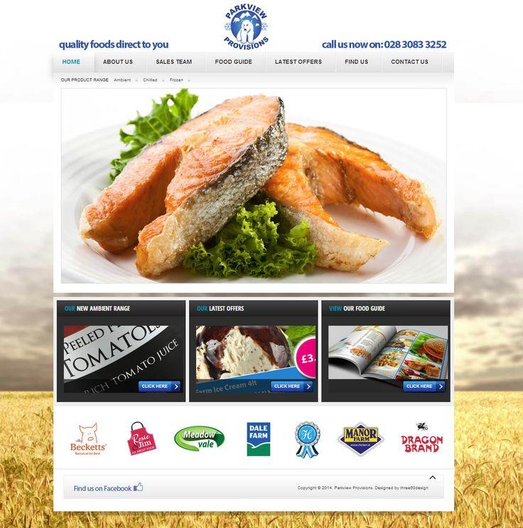 Parkview Provisions - three60design Banbridge Northern Ireland - Web Design