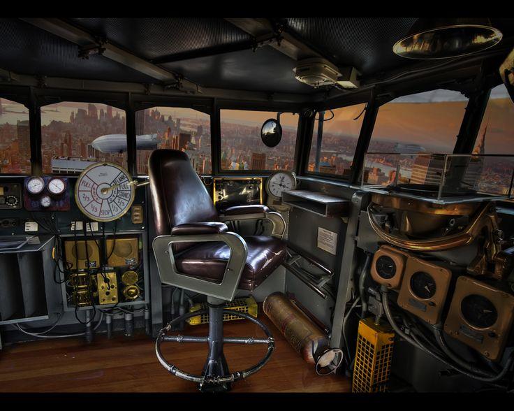 Steampunk Airship Interior Airships On Pinterest Steampunk: steampunk interior