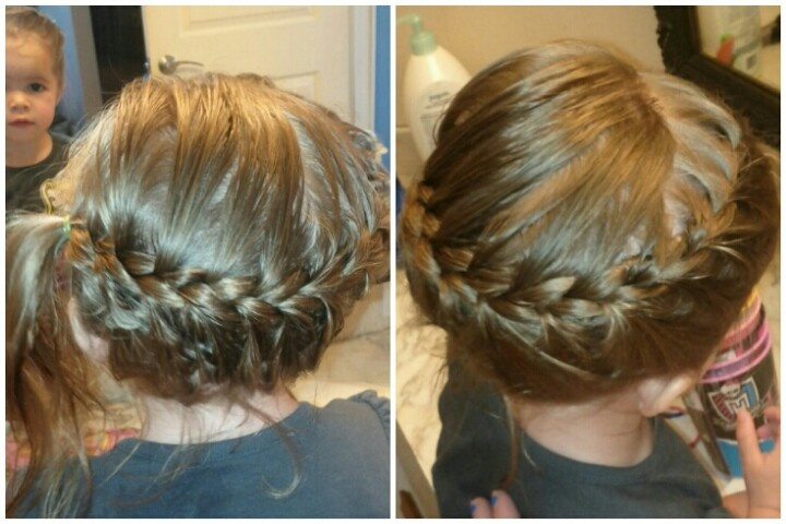 French Braid Wrap Around #braids #hair #toddler