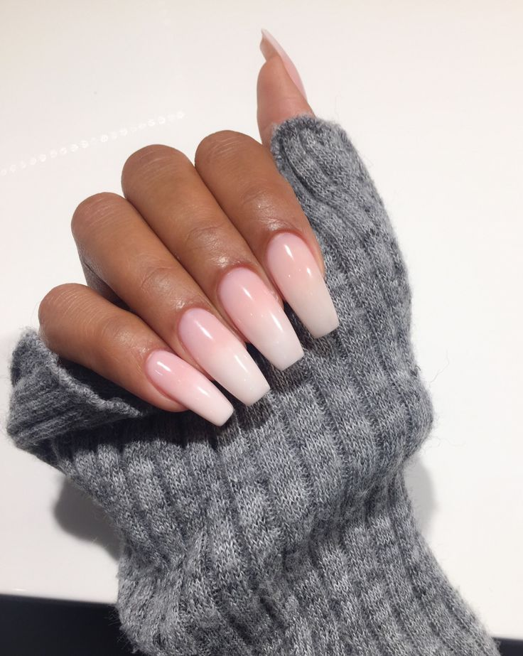 Perfect coffin nails.