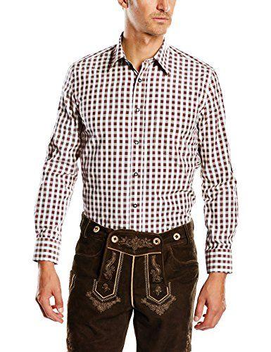 #Fuchs #Trachtenmoden #Herren #Trachten #Hemd, #Gr. #Kragenweite: #35 cm…