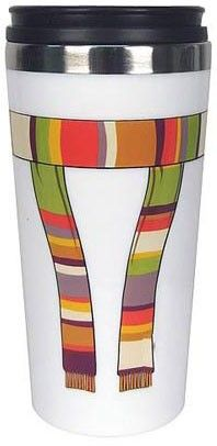 Dr Who Th Doctor Scarf Travel Mug