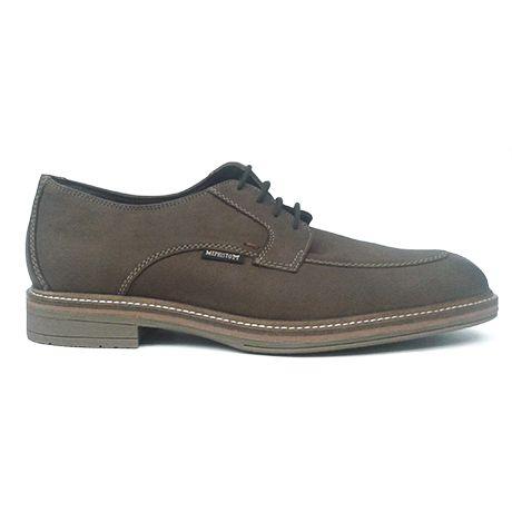 Mephisto - Zapatos de cordones de ante para hombre gris Size: 40 (6.5) XmnEE