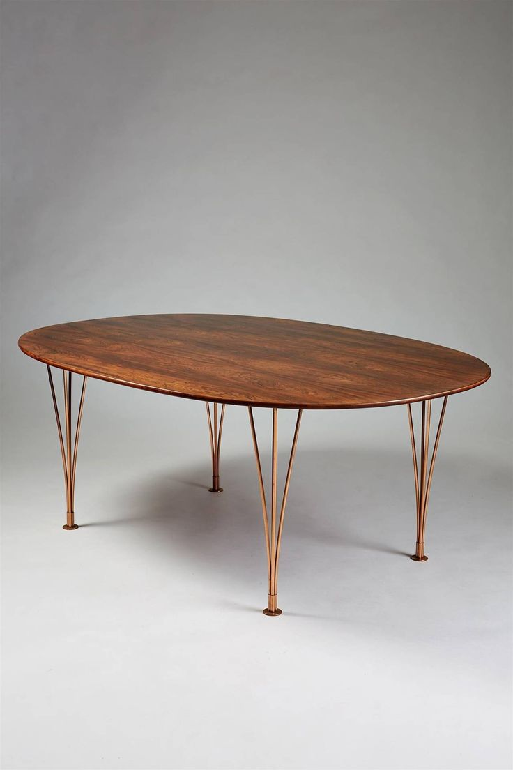 Table Designed by Bruno Mathsson and Piet Hein, Karl Mathsson, Sweden, 1964 image 2