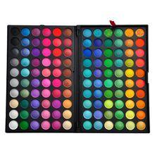 nieuwe 120 volle kleuren oogschaduw cosmetica minerale make-up professionele make-up oogschaduw palet kit p120#1 v1005a(China (Mainland))