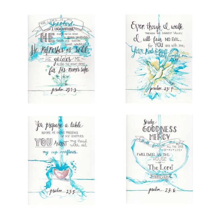 Jessica N. Gray~ Psalm 23;1 -6 Series   | FinerWorks