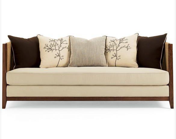 Simple tropical cozy sofa