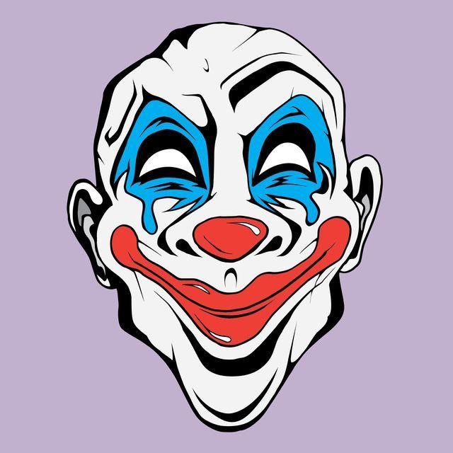 Joker Clown Mask Joker Clown Clown Mask Kratos God Of War