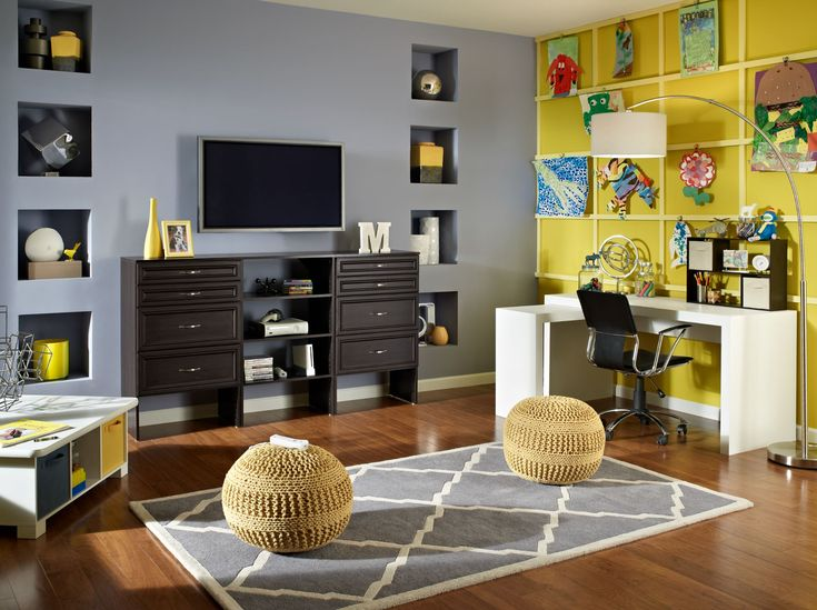 An Organized Living Room Can Make Way For Your Familyu0027s Personality!  #SuiteSymphony