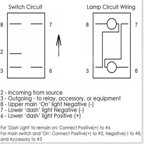 [DIAGRAM_4FR]  1 x Universal 12V/24VBlue Laser Etched Carling Style Rocker Switch Narva  ARB Dual Backlit LED For Cars Trailer RV Motorcycle Boat etc. | Wish in  2020 | Saint pierre and miquelon, St | Narva Switch Wiring Diagram |  | Pinterest