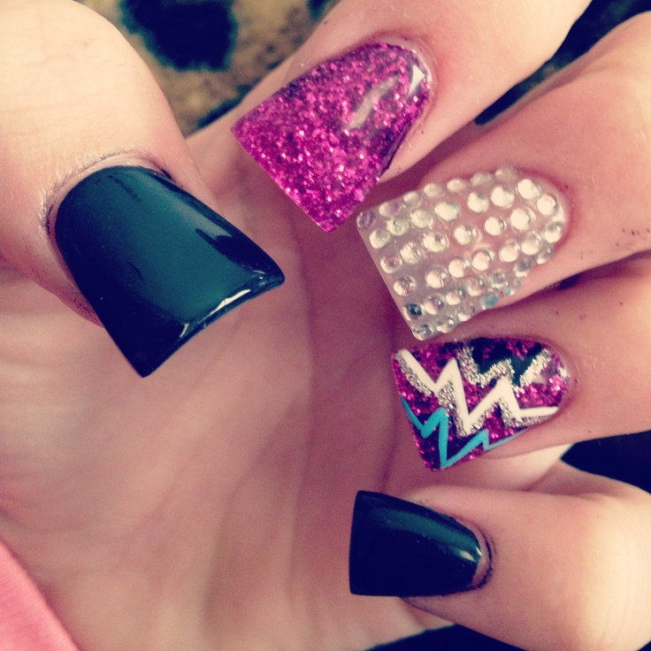 106 best New Years Nails images on Pinterest | Christmas nails, Cute ...