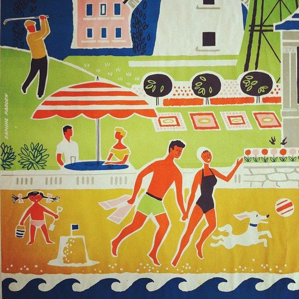 """The Lancashire Coast for British Railways - Daphne Padden"""