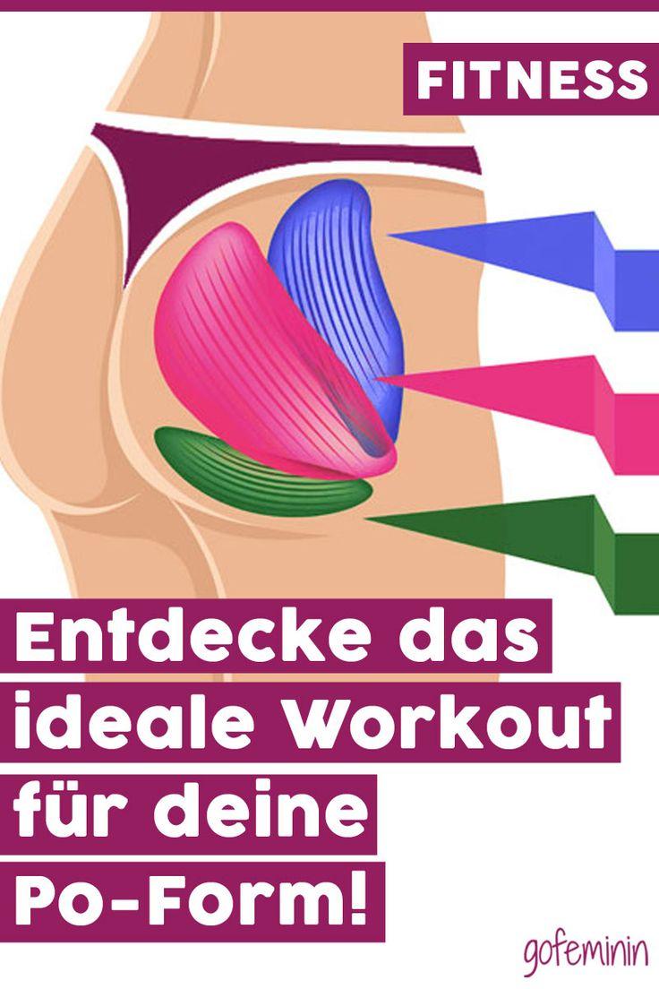 Apfel oder Birne? Das ist das beste Workout für deine Po-Form!