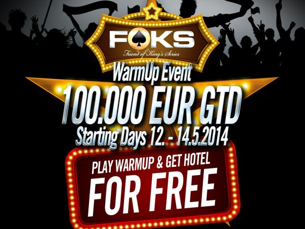 Friend of King's Series: 100k GTD WarmUp side event!