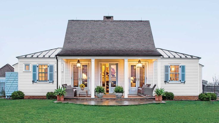 The Art of Living Small - Southern Living - Two designers show how to live large in a little space.