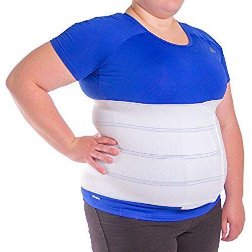 9e00cf79241 BraceAbility 3XL Plus Size Bariatric Abdominal Stomach Binder ...