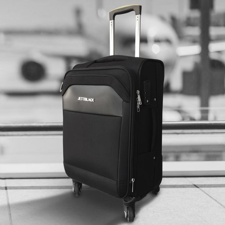 Ready for Take Off! JETT BLACK Luggage__#BlackAndWhite #AirportLife #Jetsetter