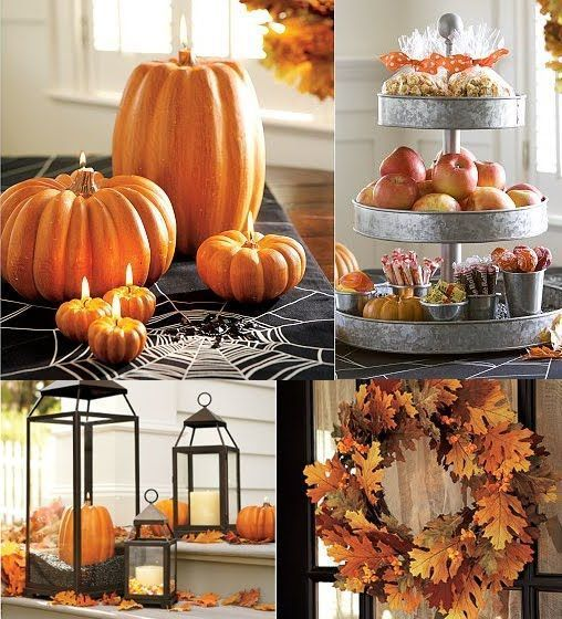 Pottery barn fall decorating ideas old pottery barn for Idee deco halloween