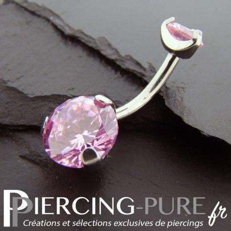 https://piercing-pure.fr/p/84-piercing-nombril-cristaux-roses-griffes.html #piercing #piercingnombril #piercingstrass #navelpiercing #piercingpierre #piercingrose